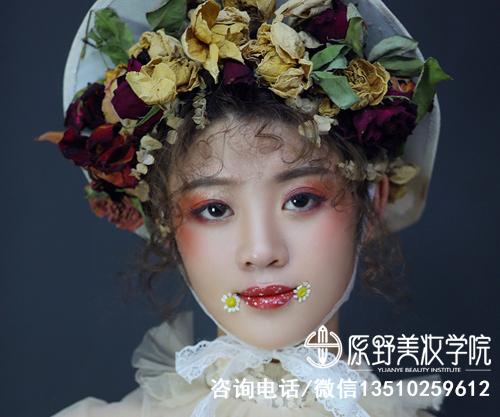东莞口碑好的纹绣化妆美甲学校