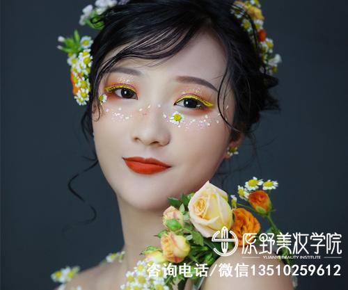惠州口碑好的纹绣化妆美甲学校